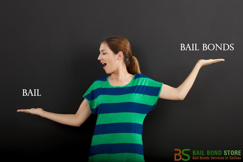 Bail vs. Bail Bonds